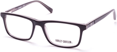 Harley-Davidson - HD0133T Shiny Black Eyeglasses / Demo Lenses