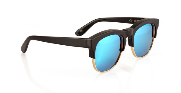 Wildfox - Clubfox Deluxe Black/Gold Sunglasses