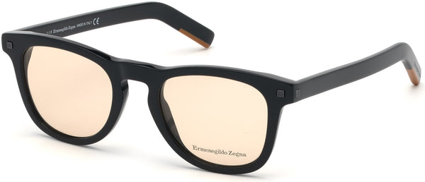 Ermenegildo Zegna - EZ5137 Shiny Black Eyeglasses / Demo Lenses