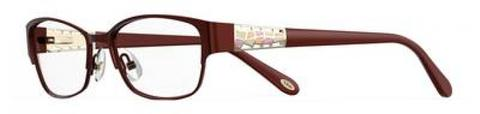 Emozioni - 4387 53mm Opal Burgundy Eyeglasses / Demo Lenses