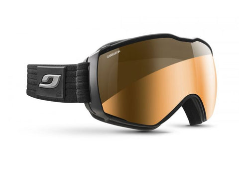 Julbo - Aerospace Black Snow Goggles / Reactiv Photochromic Cameleon Lenses