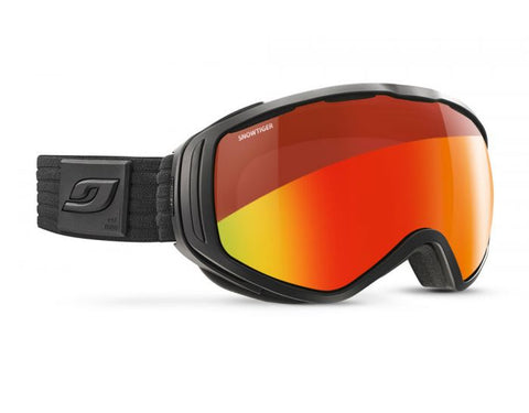 Julbo - Titan Black Snow Goggles / Reactiv Photochromic Snow Tiger Lenses