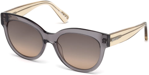 Just Cavalli - JC760S Grey Sunglasses / Gradient Smoke Lenses