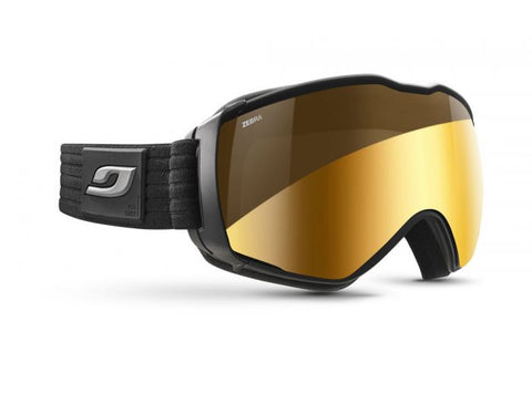 Julbo - Aerospace Black Snow Goggles / Reactiv Photochromic Zebra Lenses