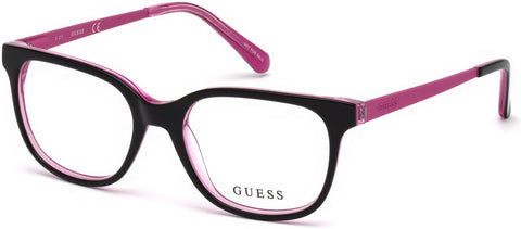 Guess - GU9175 Black Eyeglasses / Demo Lenses