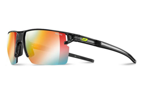 Julbo - Outline Translucent Black Sunglasses / Reactiv Photochromic Zebra Light Lenses