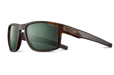 Julbo - Stream Brown Tortoise Shell Sunglasses / Green Polarized 3 Lenses