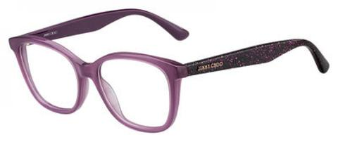 Jimmy Choo - Jc 188 Cyclamen Violet Eyeglasses / Demo Lenses