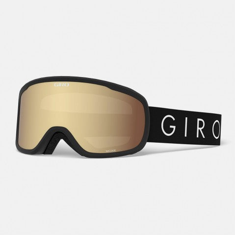 Giro - Moxie Black Core Snow Goggles / Amber Gold + Yellow Lenses