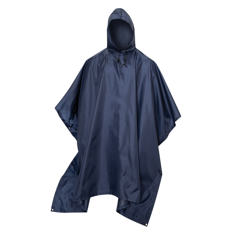 Rothco - GI Type Military Rip-Stop Navy Blue Poncho