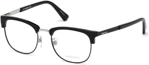 Diesel - DL5275 Shiny Black Eyeglasses / Demo Lenses