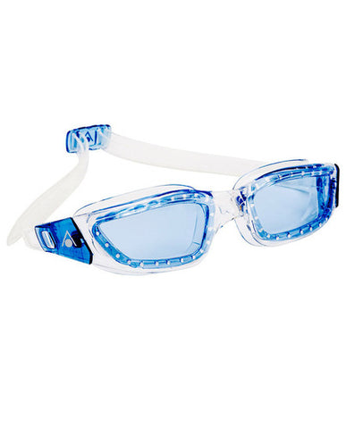 Aqua Sphere - Kameleon Transparent Blue Accents Swim Goggles / Blue Lenses