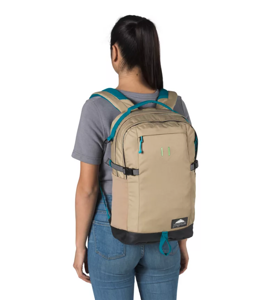 JanSport - Gnarly Gnapsack 25 Field Tan Ripstop Backpack