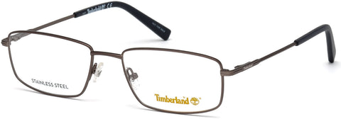 Timberland - TB1607 48mm Matte Gunmetal Eyeglasses / Demo Lenses