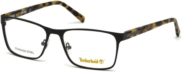 Timberland - TB1578 55mm Matte Black Eyeglasses / Demo Lenses