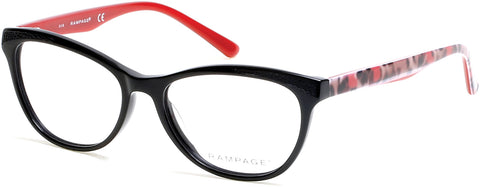 Rampage - RA0205 Black Eyeglasses / Demo Lenses
