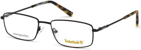 Timberland - TB1607 58mm Matte Black Eyeglasses / Demo Lenses