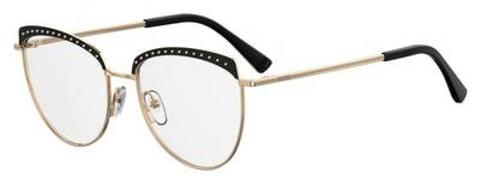 Moschino -  Mos 541 F Black Gold Eyeglasses / Demo Lenses
