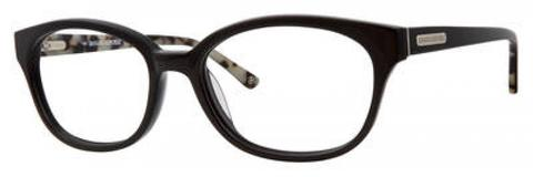 Banana Republic - Kyna 53mm White Black Spotted Tortoise Eyeglasses / Demo Lenses