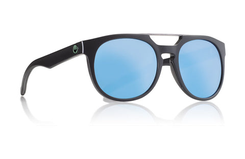 Dragon - Proflect matte Black Sunglasses / Sky Blue Ion Lenses