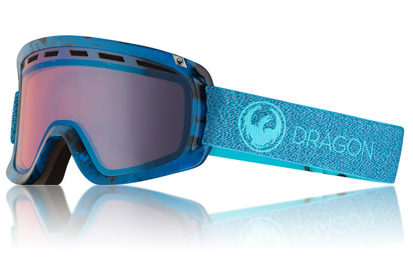 Dragon - D1 OTG Mill Snow Goggles / Lumalens Blue Ion + Lumalens Amber Lenses