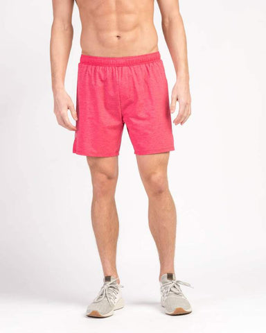 Rhone - 6 in Swift Knit Lined Rococco Red Shorts