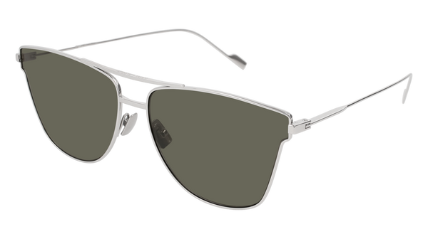 Saint Laurent - Classic SL 51 T Oxidized Nickel Sunglasses   Grey Lenses –  New York Glass 6bb262866d