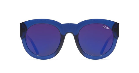 Quay If Only Blue Sunglasses / Blue Mirror Lenses