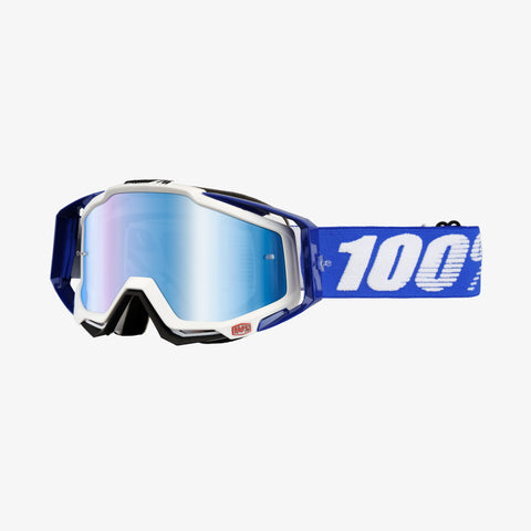 100 Percent - Racecraft Cobalt MX Goggles / Blue Mirror + Clear Lenses