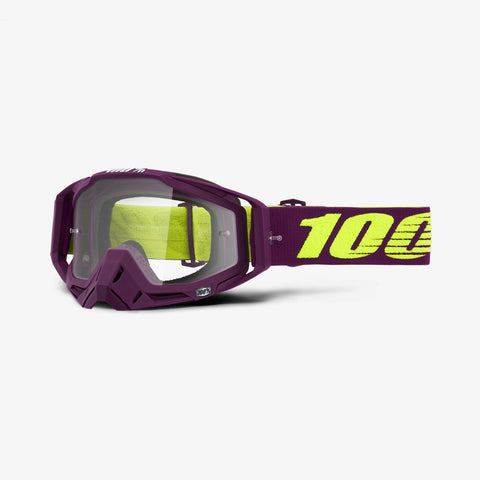 100 Percent - Racecraf Klepto MX Goggles / Clear Lenses