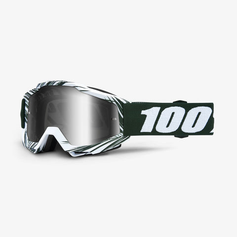 100 Percent - Accuri Bali MX Goggles / Silver Mirror + Clear Lenses