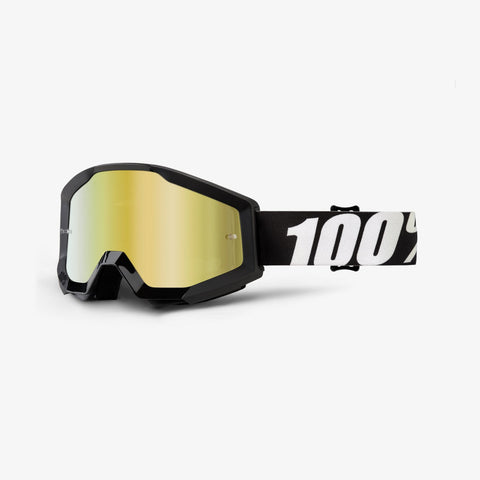 100 Percent - Strata Outlaw MX Goggles / Gold Mirror Lenses