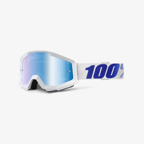 100 Percent - Strata  Equinox MX Goggles / Blue Mirror Lenses