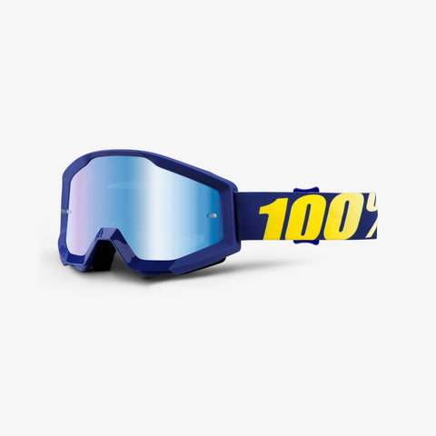 100 Percent - Strata  Hope MX Goggles / Blue Mirror Lenses