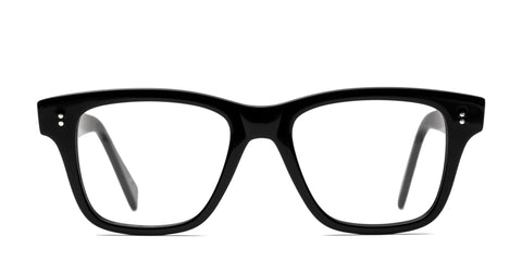 Italia Independent - Giancarlo Glossy Black Eyeglasses / Demo Lenses
