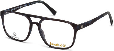 Timberland - TB1600 53mm Colored Havana Eyeglasses / Demo Lenses