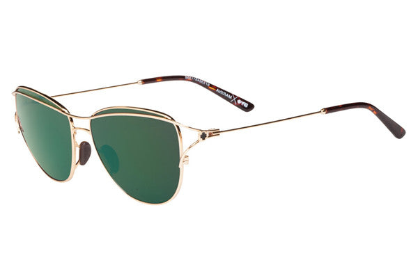 Spy - Marina Gold/Gold Sunglasses, Happy Bronze W/ Emerald Spectra Lenses