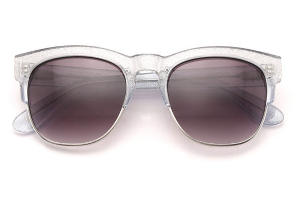 Wildfox - Clubfox Crystal Cove & Antique Silver Sunglasses