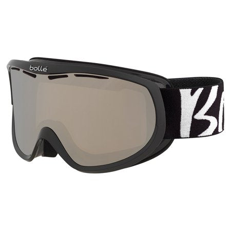 Bolle - Sierra Black White Snow Goggles / Black Chrome Lenses