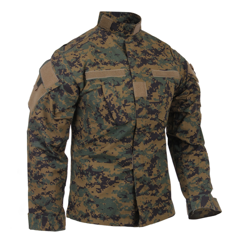 Rothco - Army Combat Woodland Digital Camo Uniform Shirt