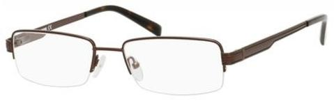 Denim Eyewear - 157 53mm Matte Brown Eyeglasses / Demo Lenses