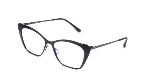Italia Independent - Jenny Matte Black Eyeglasses / Demo Lenses
