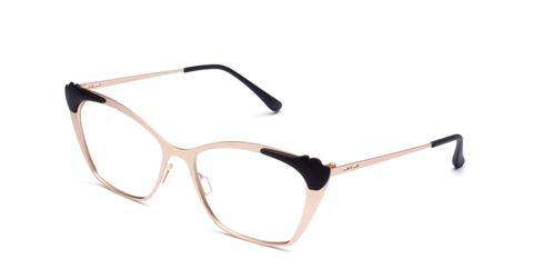 Italia Independent - Jenny Matte Rose Gold Eyeglasses / Demo Lenses