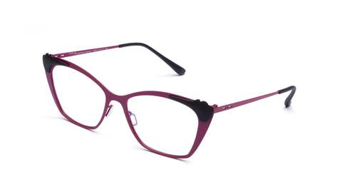 Italia Independent - Jenny Violet Crackle Eyeglasses / Demo Lenses