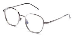 Italia Independent - Joanna White Gunmetal Eyeglasses / Demo Lenses