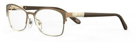 Emozioni - 4389 56mm Brown Gold Eyeglasses / Demo Lenses