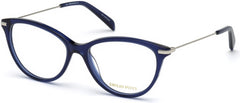 Emilio Pucci - EP5082 Shiny Blue Eyeglasses / Demo Lenses