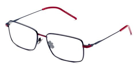 Italia Independent - Timmy Dark Blue + Red Eyeglasses / Demo Lenses