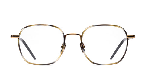Italia Independent - Lowel Glossy Horn + Copper Eyeglasses / Demo Lenses