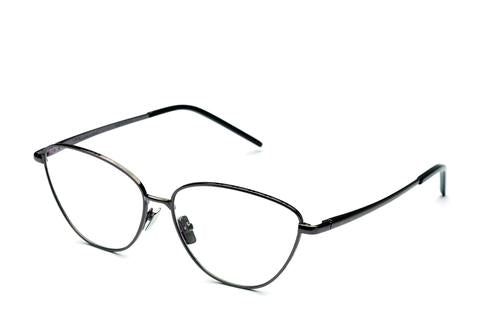 Italia Independent - Georgie Glossy Gunmetal Eyeglasses / Demo Lenses